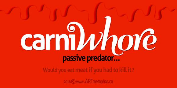 CarneWHORE v2 Passive Predator
