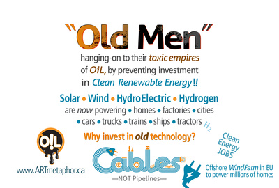 OLD MEN hanging on to dirty TOXIC EMPIRES of OIL  v4