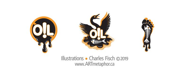 OIL & ENVIRONMENT Illustrations 10x4_150