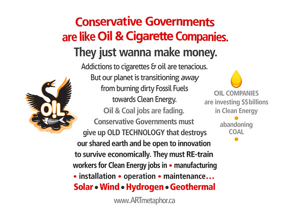 OIL & CONSERVATIVE GOVERNMENTS